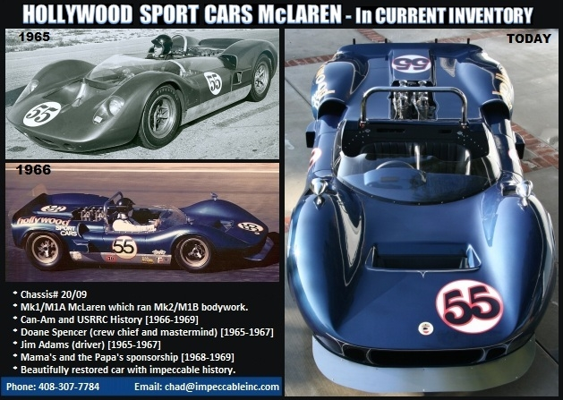 1965 Hollywood Sport Cars McLaren